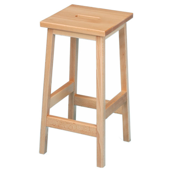 School Wooden Lab Stool 610sh Pack Of 4